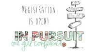 One Girl Conference 2014: In Pursuit