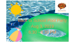 Back To School Pool Party - Bedford