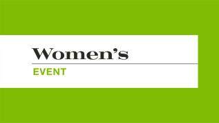 6:00pm - Women's Summer Gala - East