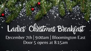 9:00am - Ladies Christmas Breakfast - East