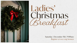 9:00am: Ladies' Christmas Breakfast