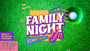 6:00pm - Sherwood Kids! Family Night In