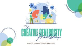 10:30am - The Creative Generosity Workshop - Bloomington East